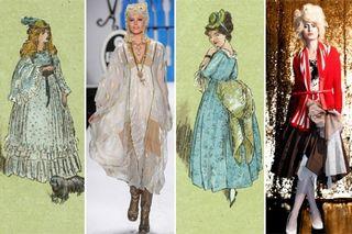 Dickens fashions